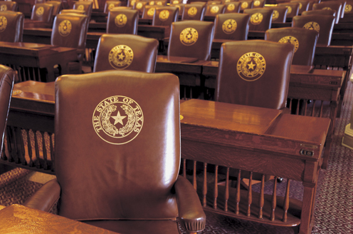 Seats of the Texas House