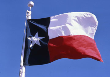 image about Texas Pledge Printable titled Texas Room of Associates - Country of Texas Flag